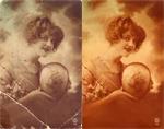 Photoshop. Fotografii vechi restaurate