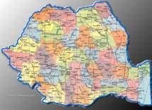 Harta Romaniei Satelit Harta Geografica